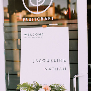 FruitCraft Wedding San Diego