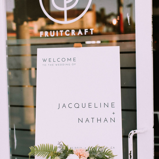 FruitCraft Wedding San Diego