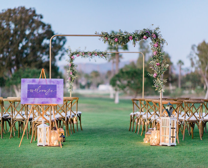 Outdoor Wedding San Diego, CA