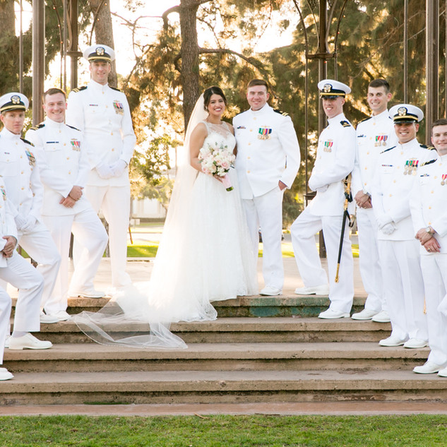 Coronado Navy Wedding
