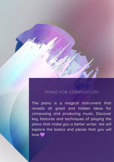 Piano for Composition