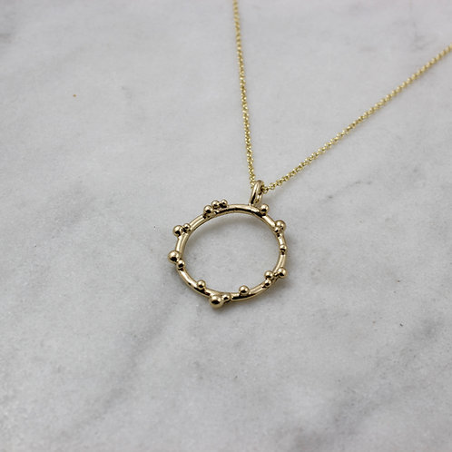 GOLD HAWTHORN NECKLACE