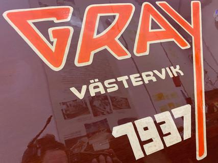 "Gar Wood 22' 1937 ""GRAY"""