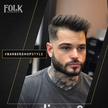 ✂️Cabelo e barba na régua e com estilo p