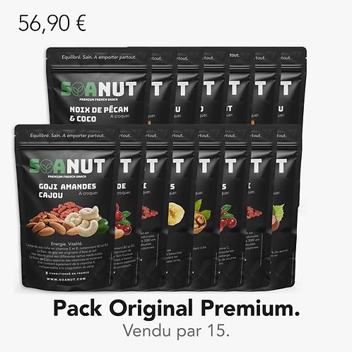 Pack ORIGINAL Premium 15 Soanut.