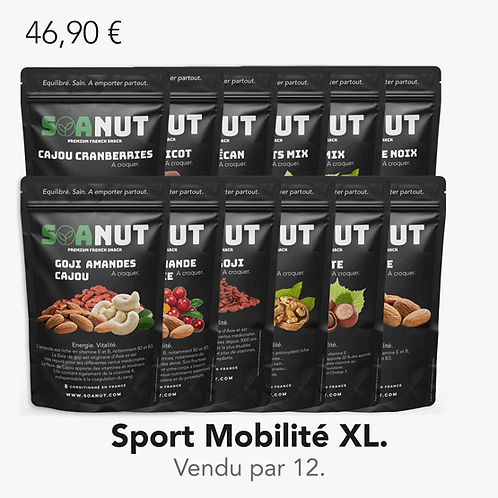 Pack Sport Mobilité XL 12 Soanut.