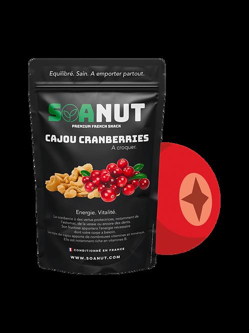 Noix de Cajou Cranberries.