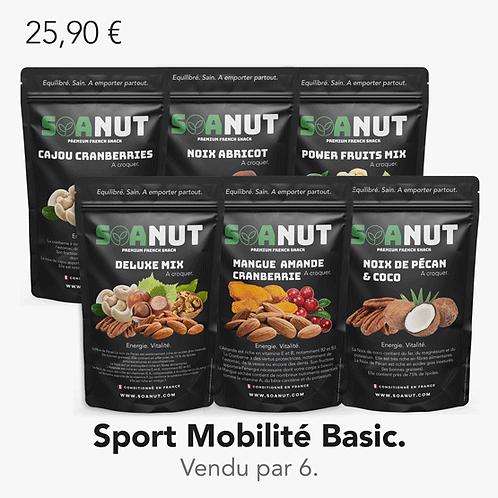 Pack Sport Mobilité Basic 6 Soanut.