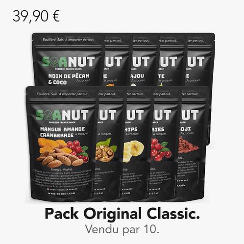 Pack ORIGINAL Classic 10 Soanut.