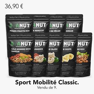 Pack Sport Mobilité Classic 9 Soanut.