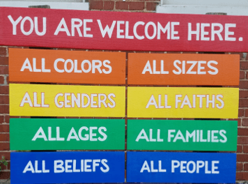 Open and Affirming - You Are Welcome Here!