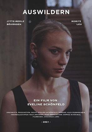 Filmplakat Auswildern - Eveline Schönfeld