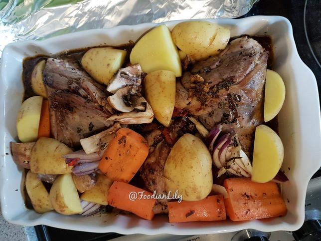 Oven ready lamb shanks