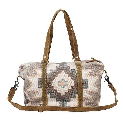 *Myra Bags Pink Palettes Mini Duffle Bag-2549