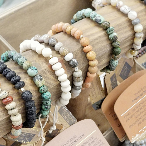 *Scout Stone Single Stacking Bracelet