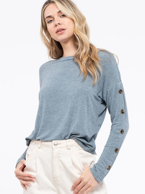 *Simple Joy Top - Blue