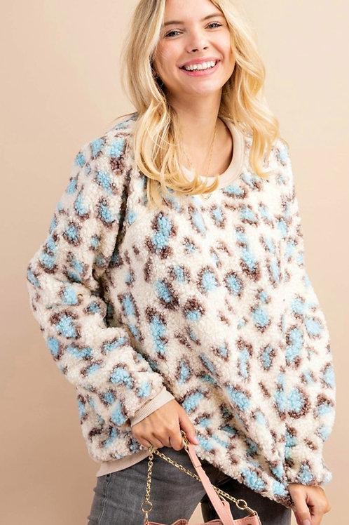 *Wild Winter Sherpa Pullover