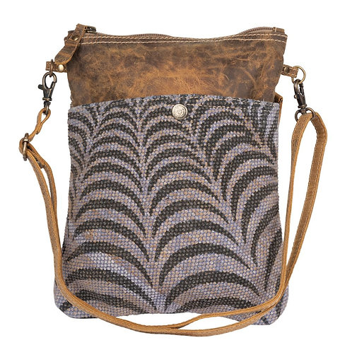 *Myra Bags Grey Prism Small & Crossbody Bag-2198