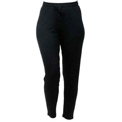 *The Weekender Drawstring Pants-Black
