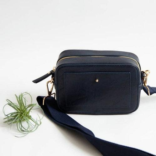 *'Camera' Crossbody Bag - Navy