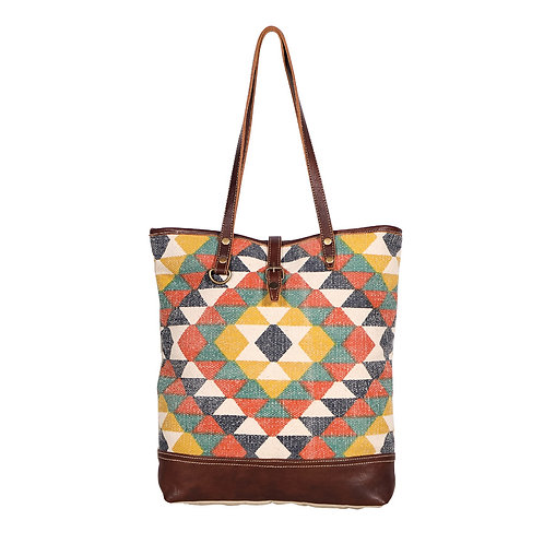 **Myra Bags Quirky Tote Bag-S-1962