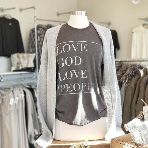 Love God Love People Graphic T