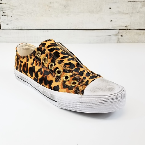 NM Shalomar Leopard Slip On Sneaker