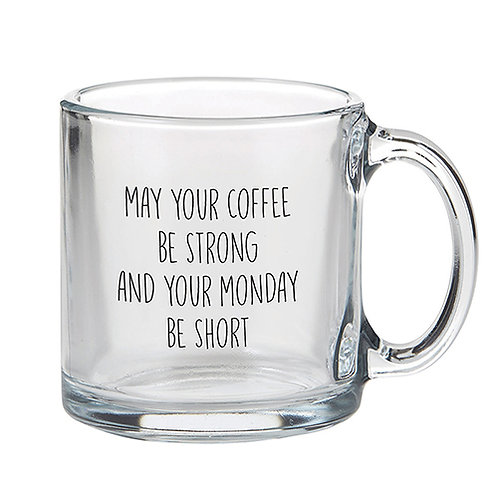 *Glass Coffee Mugs