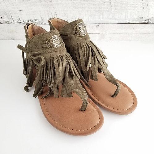 NR Chia Khaki Sandal
