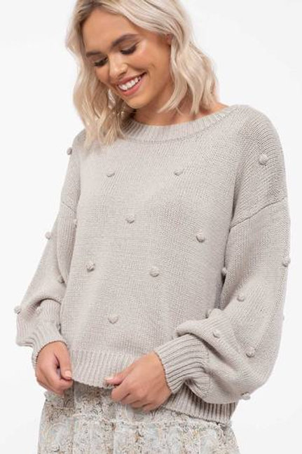 *Perfect Pom-Pom Sweater