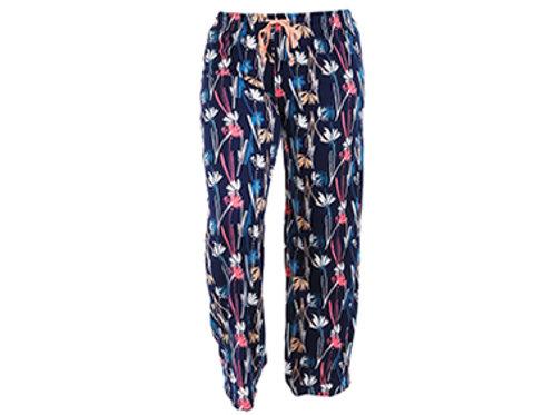 Navy Multi Floral Lounge Pant