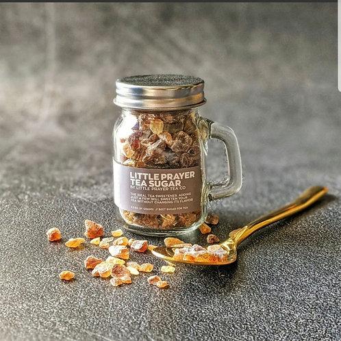 *Rock Tea Sugar - Mini Mason Jar - Belgium Sugar
