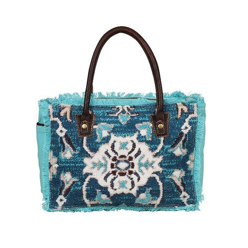 *Myra Bags Aqua Imagica Small & Crossbody Bag-2106