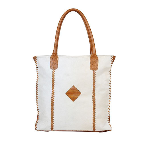 *Myra Bags Purity Leather and Hairon Bag-2594
