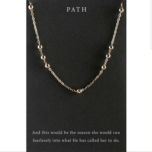 *Dear Heart Necklace - 'Path'