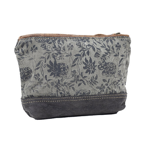**Myra Bags Elephant Print Small Bag S-0902