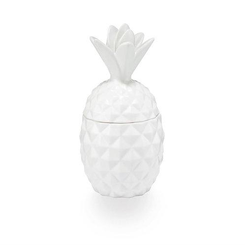 Citrus Crush Ceramic Pineapple Candle