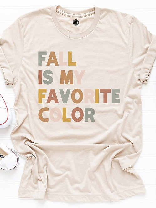 Fall Is My Favorite Color T-Shirt