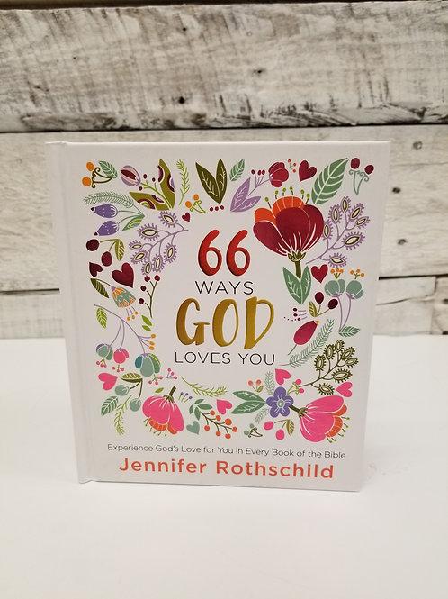 *66 Ways God Loves You