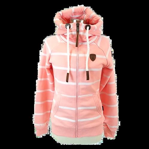 *Wanakome Hera Zip-Up Hoodie Jacket - Bright Peach