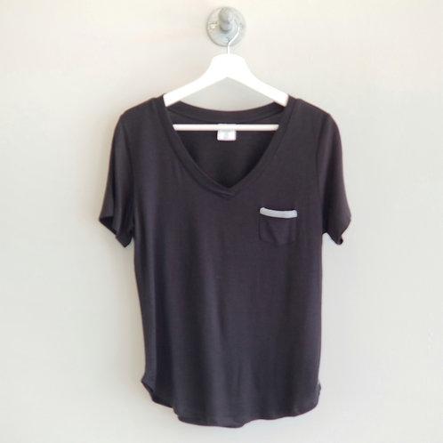 *Weekender Short Sleeve Tee-Black