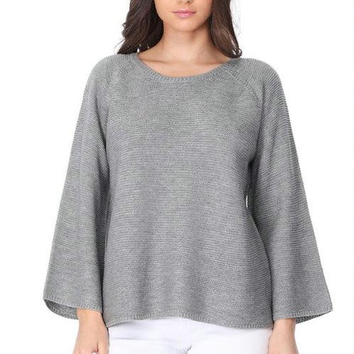 Enjoy The Journey Sweater-Grey