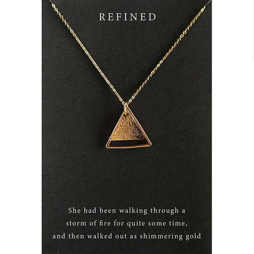 *Dear Heart Necklace - 'Refined'
