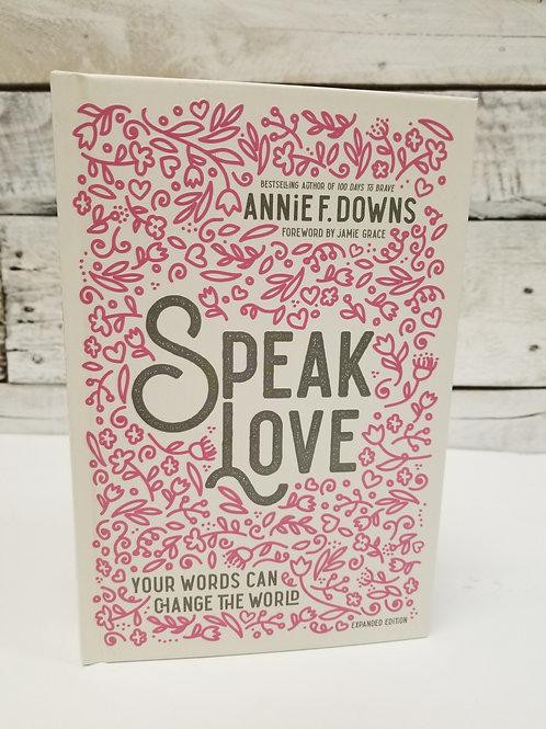 *Speak Love