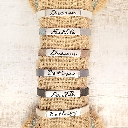 Good Work(s) Life's Inspiration Single Bracelet