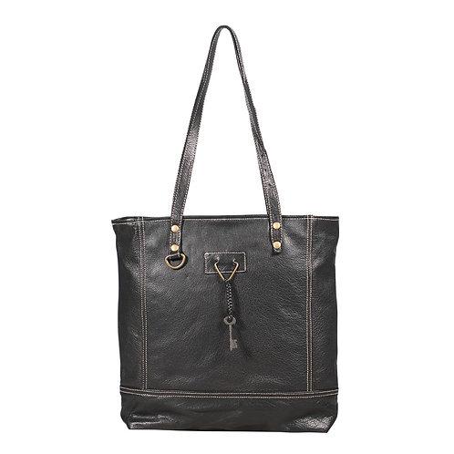 **Myra Bags Slim Leather Tote Bag S-1890