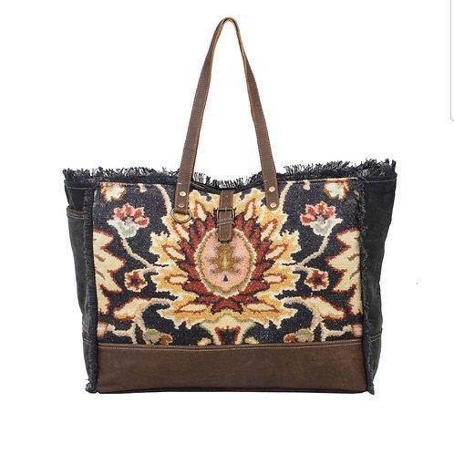 Myra Bags - Black Fern Weekender Bag S-2531