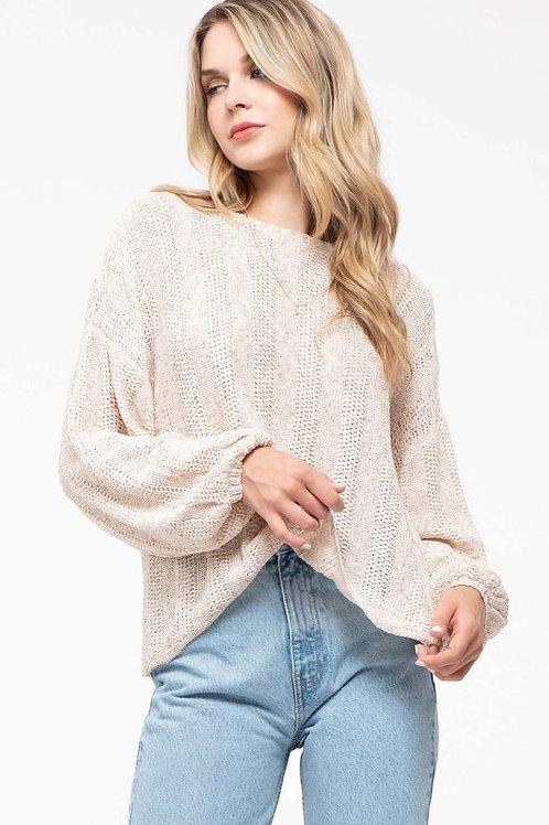 *Believe In Tomorrow Sweater