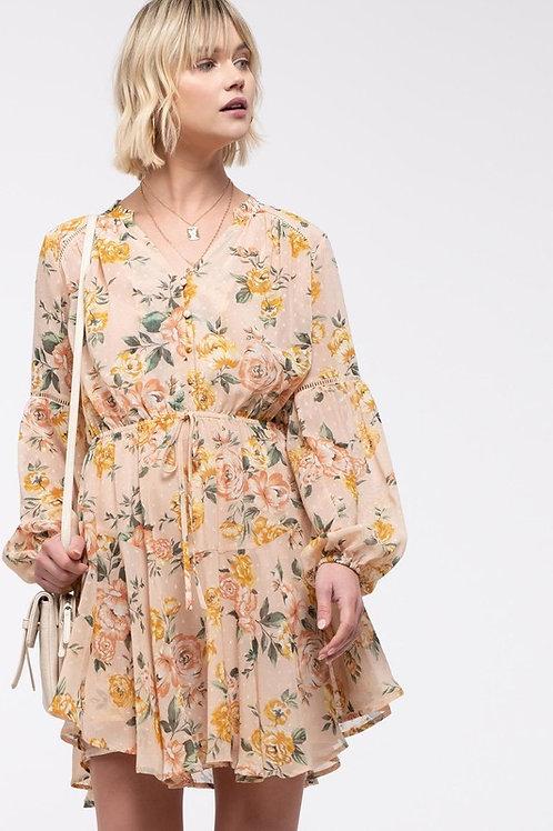 *Floral Swing Dress