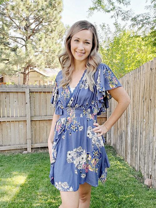 Sweet Caroline Floral Dress